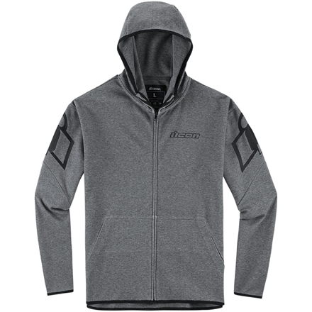 SUDADERA ICON OVERLORD GRIS OSCURO