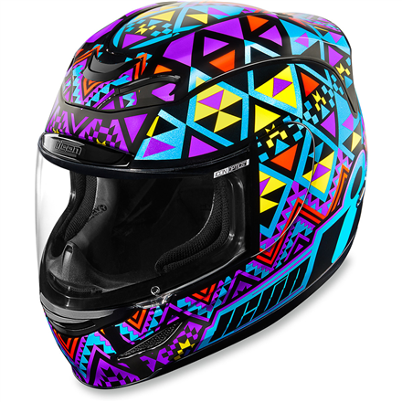 CASCO ICON AIRMADA GEORACER AZUL