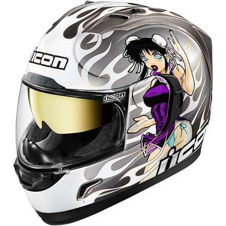 CASCO ICON ALLIANCE GT DL18 PLATA