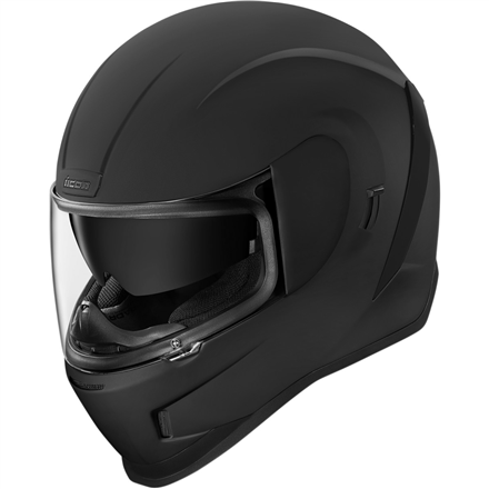 CASCO ICON AIRFORM RUBATONE NEGRO