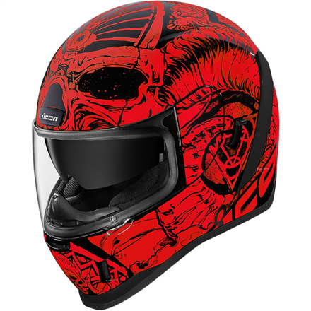 CASCO ICON AIRFORM SACROSNCT ROJO