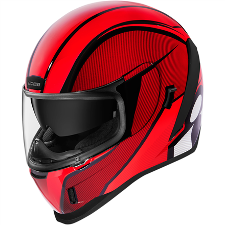CASCO ICON AIRFORM CONFLUX ROJO