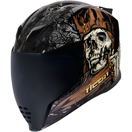 CASCO ICON AIRFLITE UNCLEDAVE NEGRO