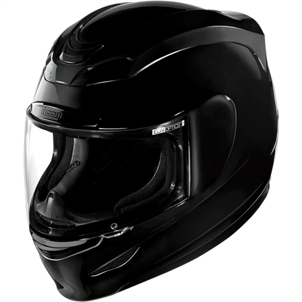 CASCO ICON AIRMADA NEGRO