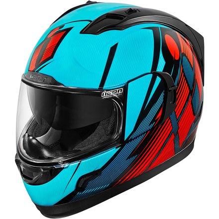 CASCO ICON ALLIANCE GT PRIMRY AZUL ROJO NEGRO