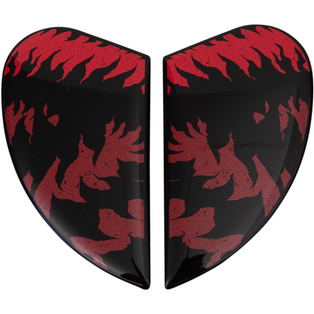 TAPAS LATERALES ICON AIRFORM LYCAN ROJO