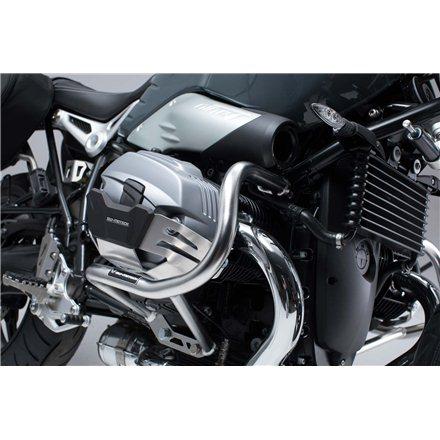 BMW R NINET 2014 - 2016 PROTECCIONES DE MOTOR PLATEADO