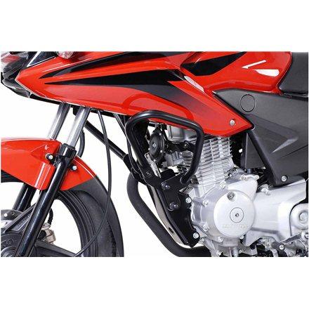 HONDA CBF 125 2009 - 2015 PROTECCIONES DE MOTOR NEGRO