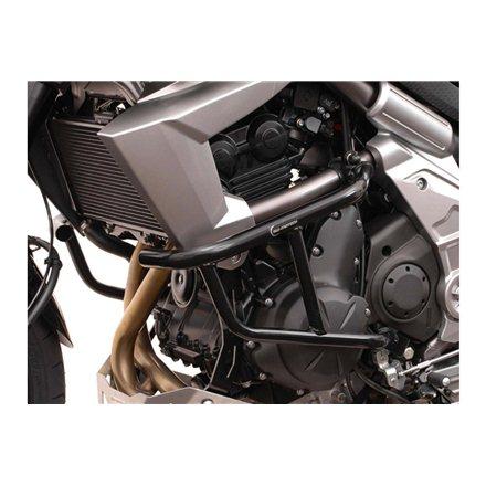 KAWASAKI VERSYS 650 2010 - 2014 PROTECCIONES DE MOTOR NEGRO