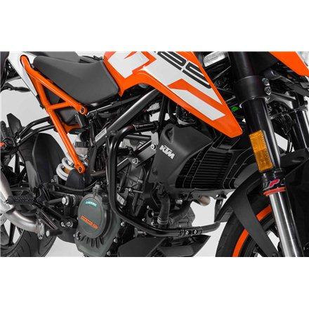 KTM 125 DUKE 2017 -  PROTECCIONES DE MOTOR NEGRO