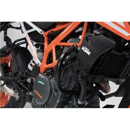 KTM 390 DUKE 2013 -  PROTECCIONES DE MOTOR NEGRO
