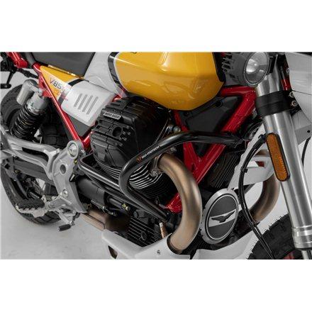 MOTO-GUZZI V85 TT 2019 -  PROTECCIONES DE MOTOR NEGRO