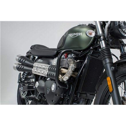 TRIUMPH BONNEVILLE BOBBER 2016 -  PROTECCIONES DE MOTOR NEGRO