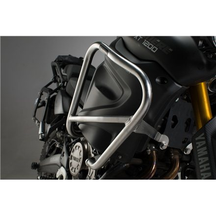 YAMAHA XT1200Z / ZE SUPER TENERE 2010 - 2013 PROTECCIONES DE MOTOR PLATEADO