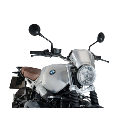 BMW R NINE T 14' - 20' PLACA FRONTAL ALUMINIO