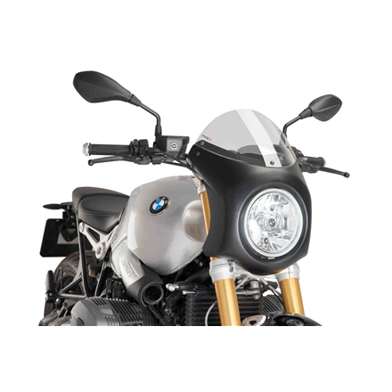 BMW R NINE T SEMICARENADO NEGRO MATE