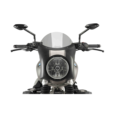 BMW R NINE T SCRAMBLER SEMICARENADO NEGRO MATE