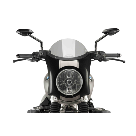 BMW R NINE T SCRAMBLER SEMICARENADO SÍMIL CARBONO