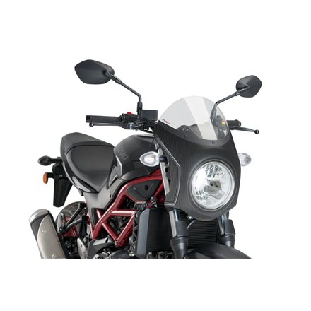 SUZUKI SV650 SEMICARENADO CARBONO