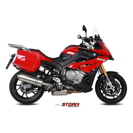 BMW S 1000 XR 2015 - 2019 SLIP-ON OVAL INOX/ST. STEEL