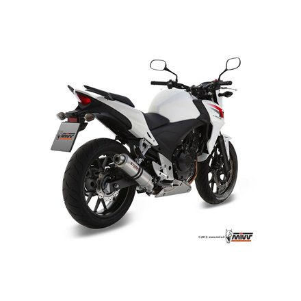 HONDA CBR 500 R 2013 - 2015 SLIP-ON GP INOX/ST. STEEL