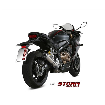 HONDA CB 650 R 2019 - 2020 Imp. compl./Full sys. 4x2x1 GP INOX/ST. STEEL