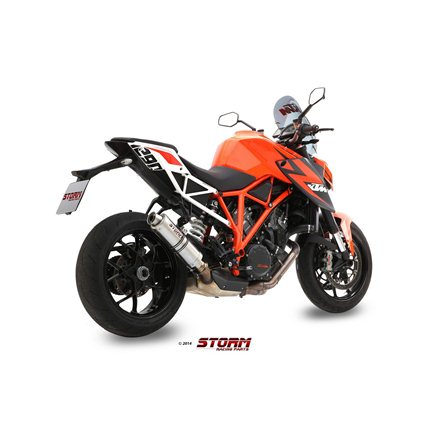 KTM 1290 SUPERDUKE 2014 - 2019 SLIP-ON GP INOX/ST. STEEL