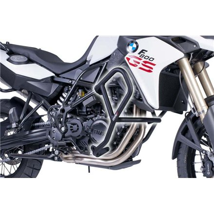 BMW F800 GS 13' - 17' DEFENSAS LATERALES PUIG NEGRO