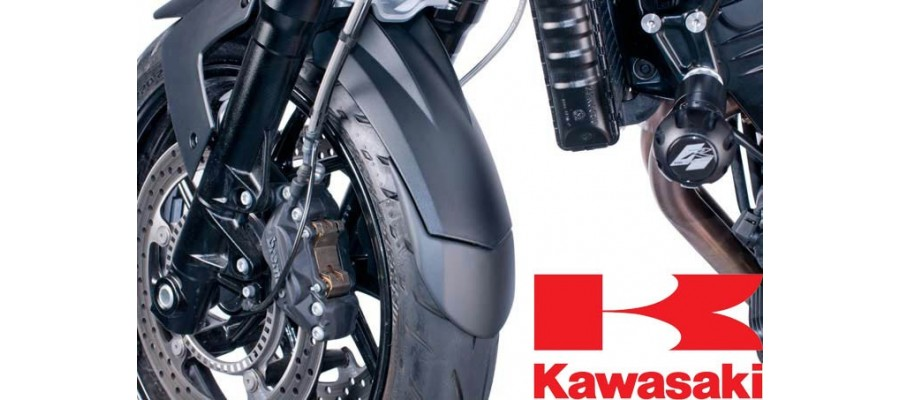 Kawasaki Faldon Guardabarros Puig